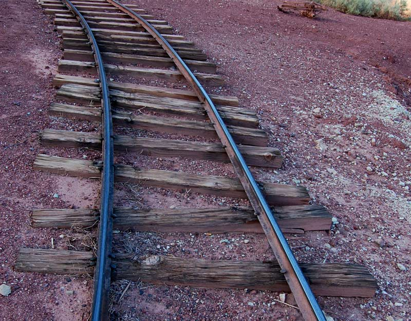 Dirty Narrow Gauge Rail